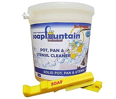 Jabón fuente Industrial olla, cacerola y utensilios de cocina limpiador