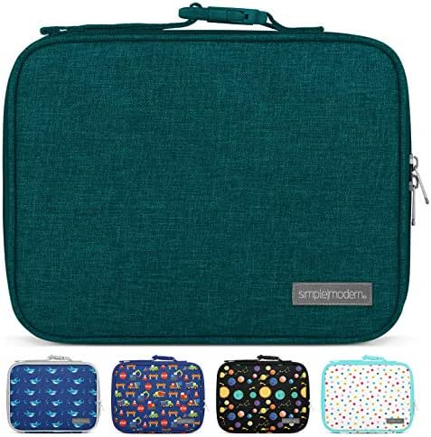 Simple Modern 3L Hadley Lunch Bag for Kids - Blue Insulated Women's & Men's Lunch Box -Riptide