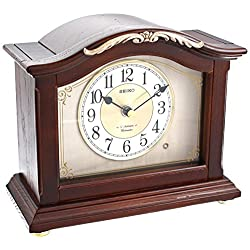 Seiko QXW432BLH Japanese Quartz Shelf Clock