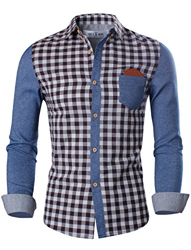 Toms Ware Two toned Checkered Longsleeve