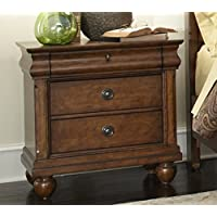Liberty Furniture 589-BR61 Traditions Night Stand, 28 x 17 x 28, Rustic Cherry