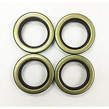 Set of 4 Trailer Hub Grease Seals E-Z Lube 3500 lbs Axle 1.719 x 2.565 -22028