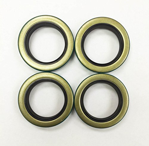 Set of 4 Trailer Hub Grease Seals E-Z Lube 3500 lbs Axle 1.719 x 2.565 -22028