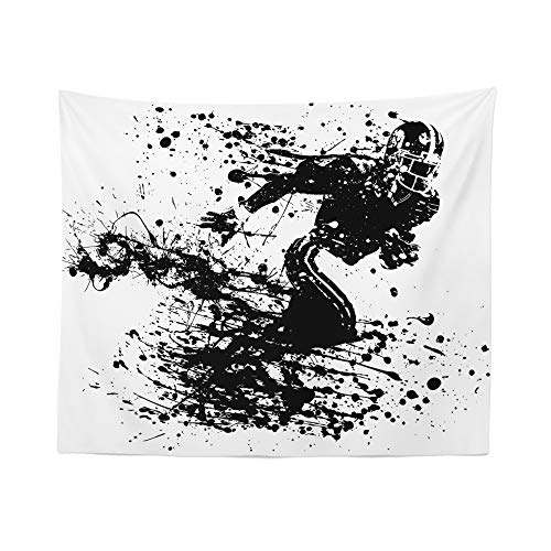 American Football Tapestry Wall HangingGridiron NationalTapestries Dorm Room Bedroom Decor Art – Printed in the USA – Small to Giant Sizes