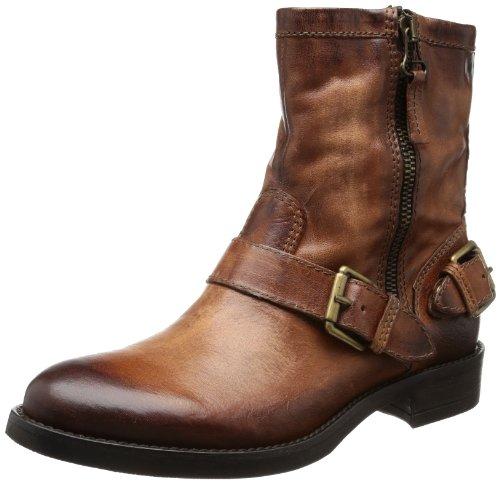 Mjus 648210 - Biker Boots de cuero mujer marrón - Braun (tabacco 6106)