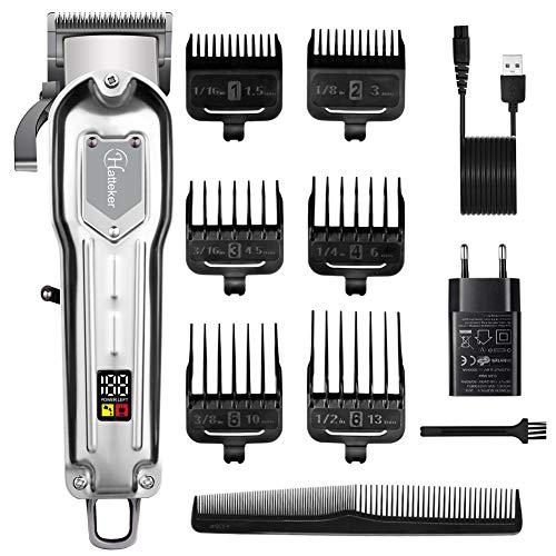 🥇 Hatteker Barbero Electrico Cortapelos Profesional