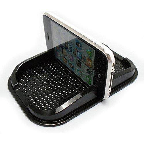 MeiBoAll Black Car Dashboard Sticky Pad Non Slip Mat Gadget Mobile Phone GPS Holder