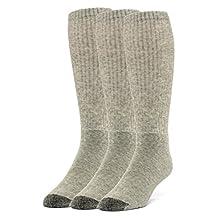 Galiva Women's Cotton Extra Soft Over the Calf Cushion Socks - 3 Pairs