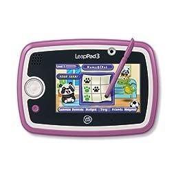 LeapFrog LeapPad3 Kids\' Learning Tablet, Pink