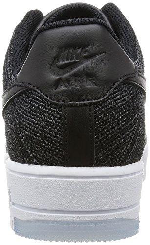 Ultra Low weiß Black Herren Schwarz Af1 Black Schwarz Nike Flyknit Dunkelgrau Turnschuhe ZxgwEAEHq