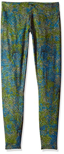 Hot Chillys Women's MTF4000 Fiesta Print Tights, Medium, Katmandu