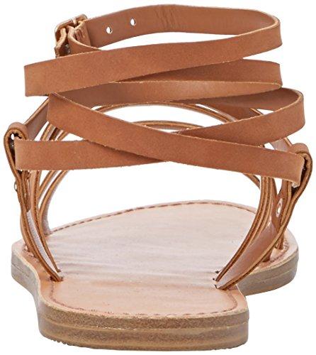 New Look Gaps - Sandalias con tacón Mujer beige (moreno)