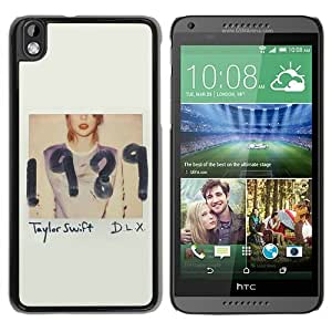 Popular Design HTC Desire 816 Case Of taylor swift 1989.jpeg Black Recommended Picture HTC Desire 816 Phone Case