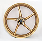 Artudatech Front Wheel Rim For Triumph Street Triple 675 2008-2009 Daytona 675 06-10 Gold