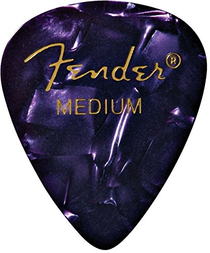 fender heavy picks purple - 3