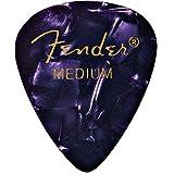 Fender Medium 351 Shape Premium Guitar Picks, Purple Moto, 144-Count