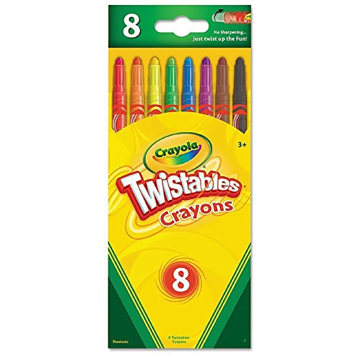 Twistable Crayons Traditional Colors set