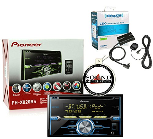 Click to buy Pioneer FH-X820BS CD Player Built in Bluetooth w/ SiriusXM SXV200v1 and SOTS Air Freshner - From only $1599.95