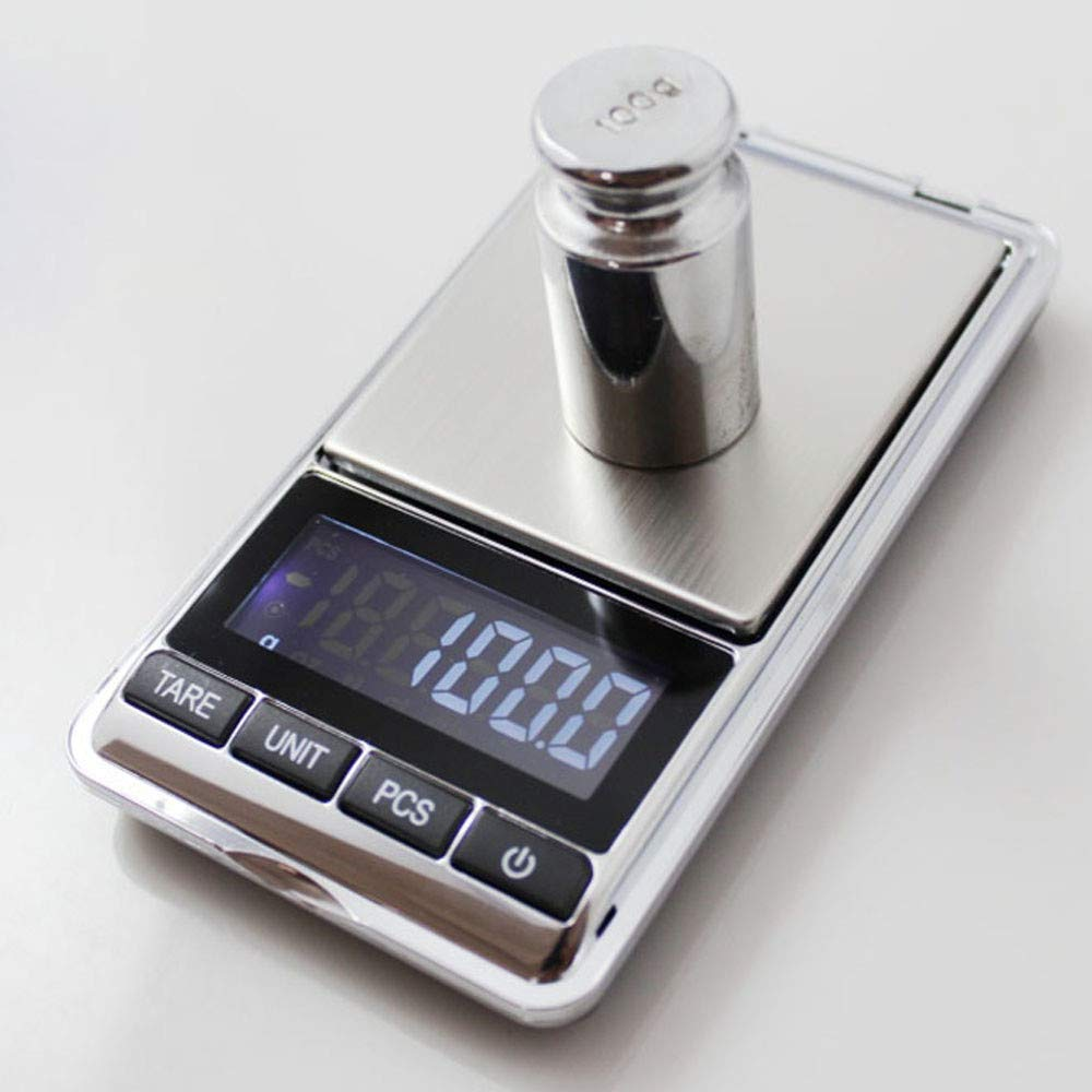 ♛Euone Wine Stopper ♛Clearance♛,Portable 500g x 0.1g Digital Mini Scale Jewelry Pocket Balance Weight Gram LCD