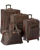 Tommy Bahama Mojito Four Piece Luggage Set Navy