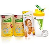 Almased's unique formula contains the key ingredients for successful weight loss, optimal health and maximum energy: High-quality fermented soy; Skim milk yogurt powder; Honey enzymes. Almased is all-natural, gluten-free, non-GMO and suitable for veg...