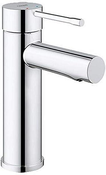 Grifo de lavabo Grohe Essence de cuerpo liso 1/2, cartucho cerámico de 28mm con tecnología EcoJoy