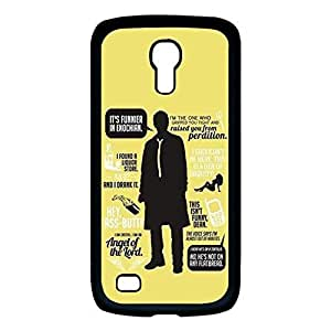 Case For Samsung Galaxy S4 Mini Hard Plastic Supernatural Quotes Protective Cover Case Design for Fashion Unique BT-SB personality case