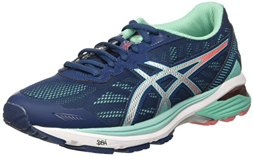Shoes Women's Silver Gt 1000 Asics Blu Running Cockatoo Poseidon 5 wXqOTa7Td