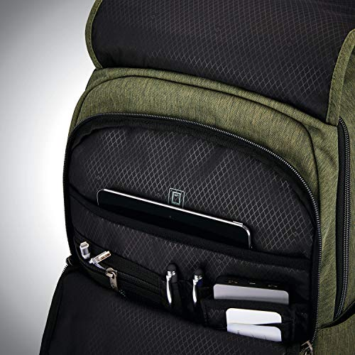 51iI0xcIT1L - Samsonite Modern Utility Paracycle Backpack Laptop, Olive, One Size