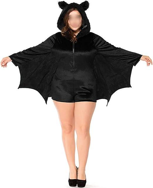 Meijunter Disfraces de Halloween - Niño Adulto Acogedor Murciélago Mono Vampiro Cosplay Disfraz Chicas Mujer Familia Fiesta: Amazon.es: Productos para mascotas