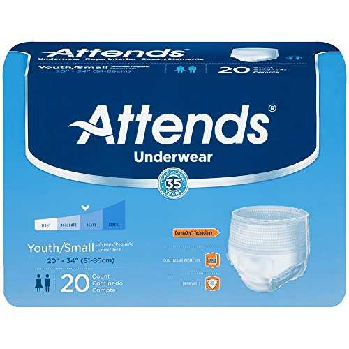 Attends Underwear Super Plus Absorbency Small 22