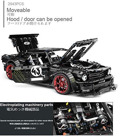 2.4G RC Race Auto Bouwstenen Kits, APP-Afstandsbediening Elektrisch Sportwagens Model-Voertuigen Collectie, STEM Educatief Speelgoed Cadeaus Voor Kinderen Volwassenen, 2943 STUKS