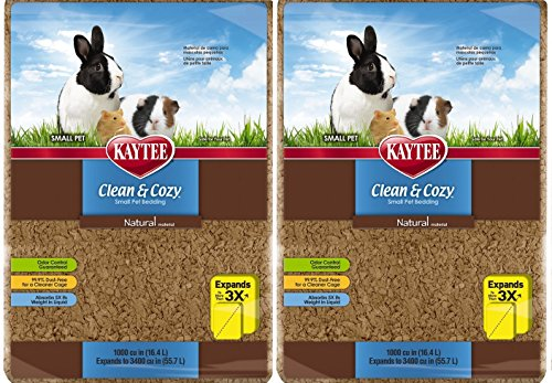 Kaytee Clean and Cozy Animal Bedding Trdqdq, 1000 cu.in. /