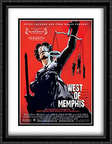 West of Memphis 28x36 Double Matted Large Large Black Ornate Framed Movie Poster Art - Memphis Galleria