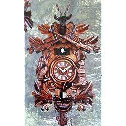 Schneider Quartz Hunting Cuckoo Clock, Musical, Q 205/9