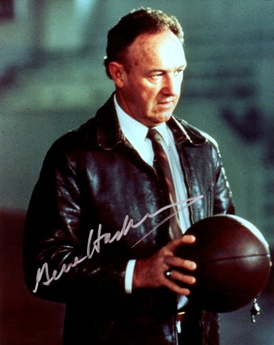 Hackman Gene Signed (Gene Hackman in Hoosiers Signed Autographed 8 X 10 Reprint Photo - Mint Condition)