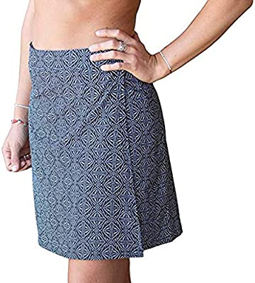 SMILEQ Vestido de Mujer impresión rápida Wrap Falda Bikini Cover ...