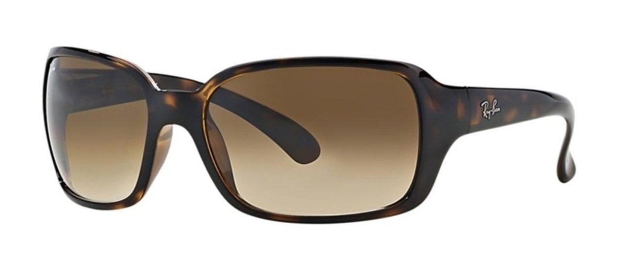 Ray-Ban RB4068 Sunglasses Light Havana/Crystal Brown Gradient 60mm
