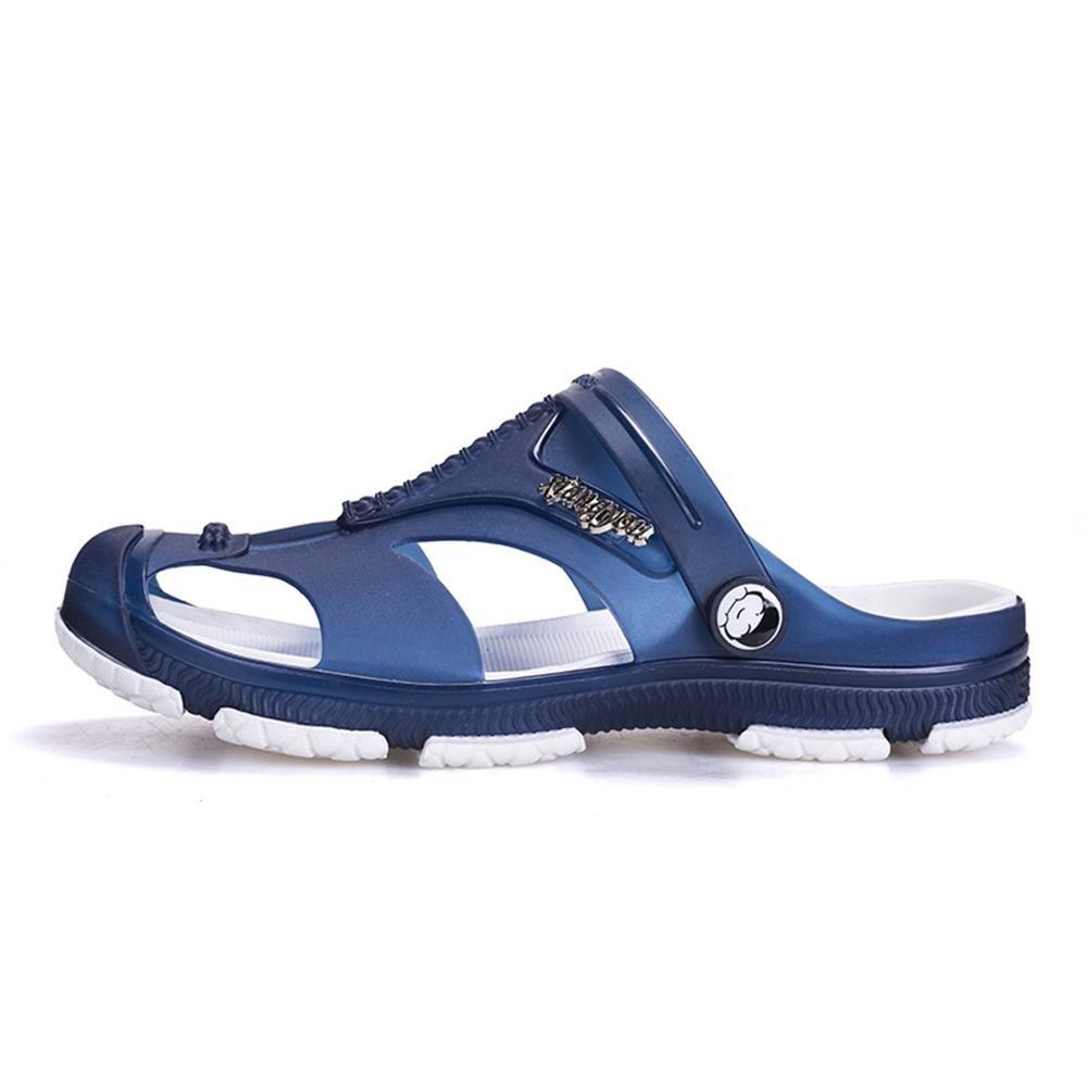 Sandalen Super Weiche Herren Sommer waten Schuhe Atmungsaktiv und Rutschfest  Blue  41Sandalen Weiche Herren Atmungsaktiv Rutschfest