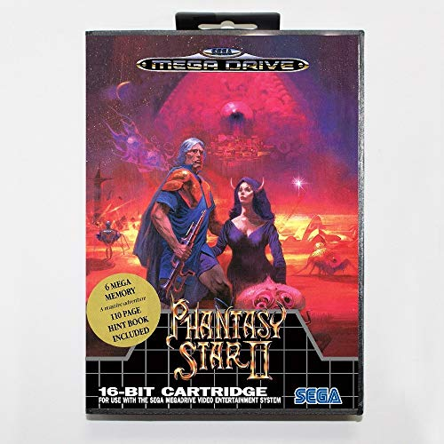 Phantasy Star 2 16 Bit Sega Md Game Card With Retail Box For Sega Mega Drive For Genesis (Phantasy Star Portable 2)
