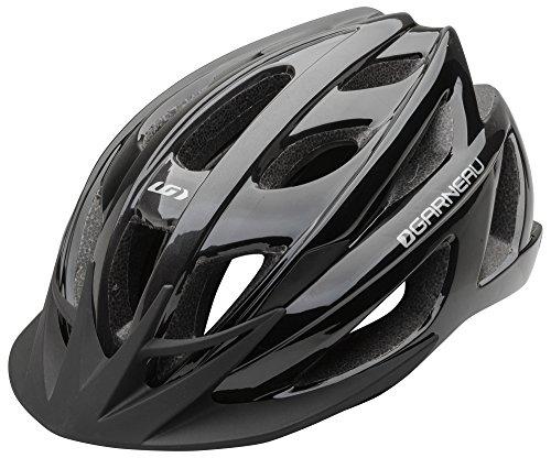 Louis Garneau Le Tour 2 Lightweight, Adjustable, CPSC Safety Certified Bike Helmet for Men and Women, Black, ()