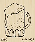 Small Beer Mug Rubber Stamp By DRS Designs