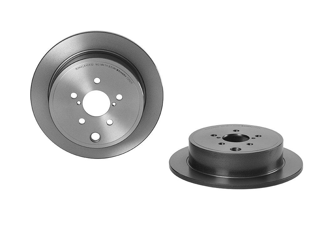 Brembo 08.C252.11 Brake Disc Rotors