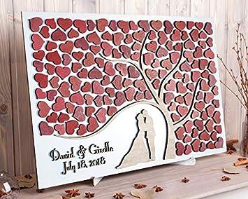 Amazon Com 456yedda Custom Wedding Guest Book Alternative