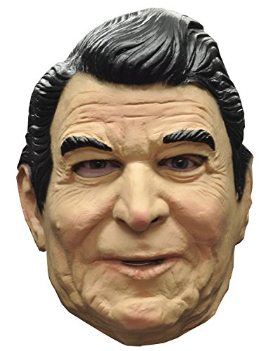 UHC Men's Ronald Reagan Political Funny Party Vinyl Halloween Costume Mask