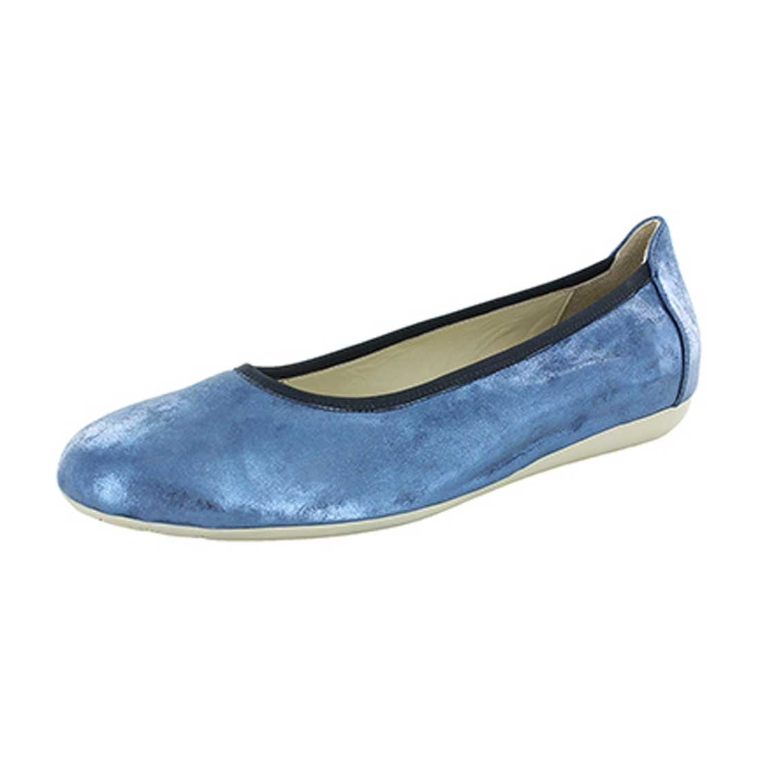 Wolky Comfort Ballet Pumps Tampa B01LY9L26J 37 M EU|Amalia Blue