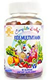 Kid Multivitamin Gummies: Vitamin A, C, D, E, B6, B12 Top Essential Vitamins & Minerals | Supports Immune, Energy, Metabolism + Choline for Focus | No Sugar, Gluten Free & Non-GMO by Complete Body