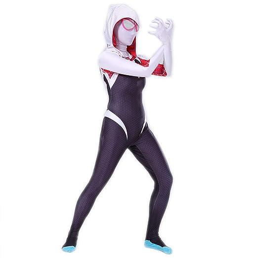 Rubyonly La impresión 3D Traje del Hombre araña araña Gwen Stacy ...