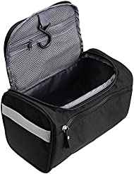 TravelMore Hanging Travel Toiletry Bag Organizer   Bathroom Hygiene Dopp Kit  with Hook for Traveling Accessories 5c00f89f05a06