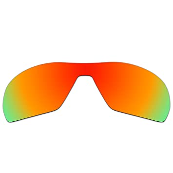 5797683bb30 Amazon.com  ACOMPATIBLE Replacement Polarized Lenses for Oakley Offshoot  Sunglasses OO9190 (Fire Red Mirror)  Home Improvement